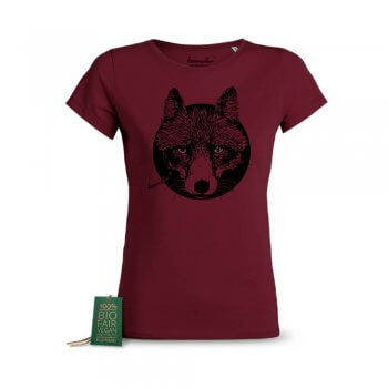 Ladies T-Shirt Reineke Fuchs bordeaux