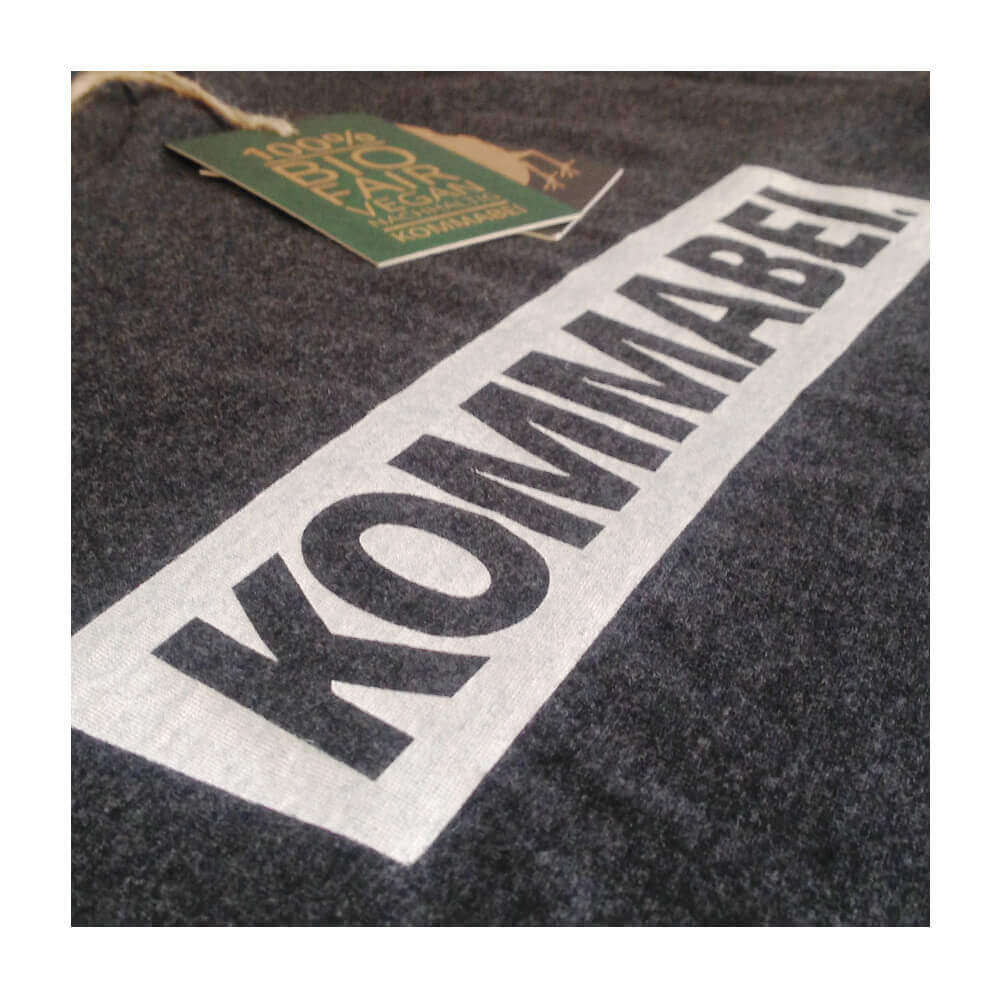 Herren T-Shirt KOMMABEI Logo Detail