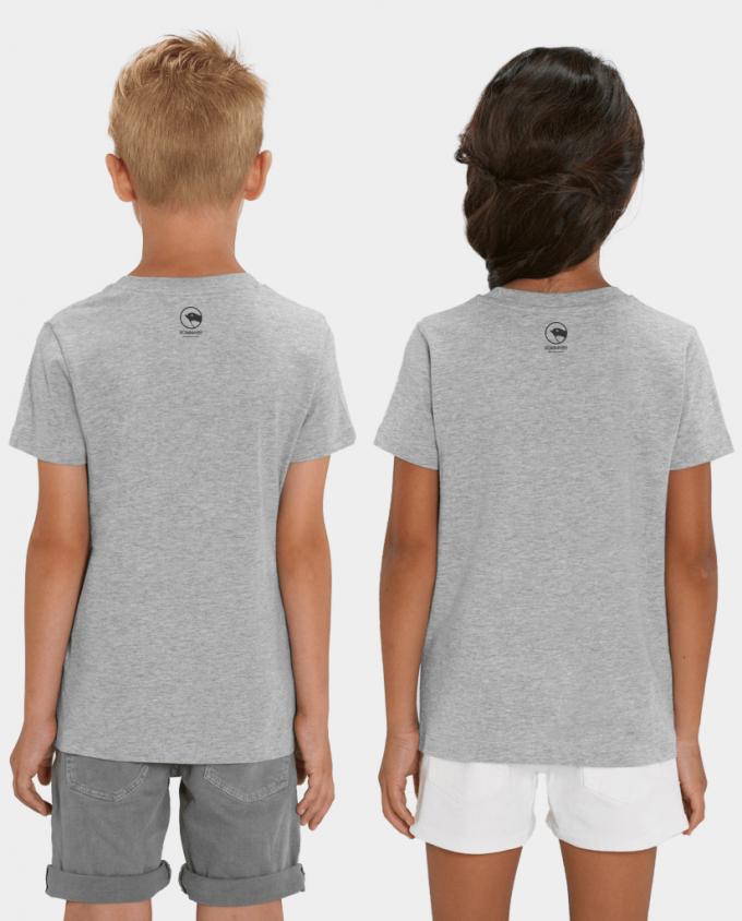Kinder T-Shirt Fuchs Rückenansicht