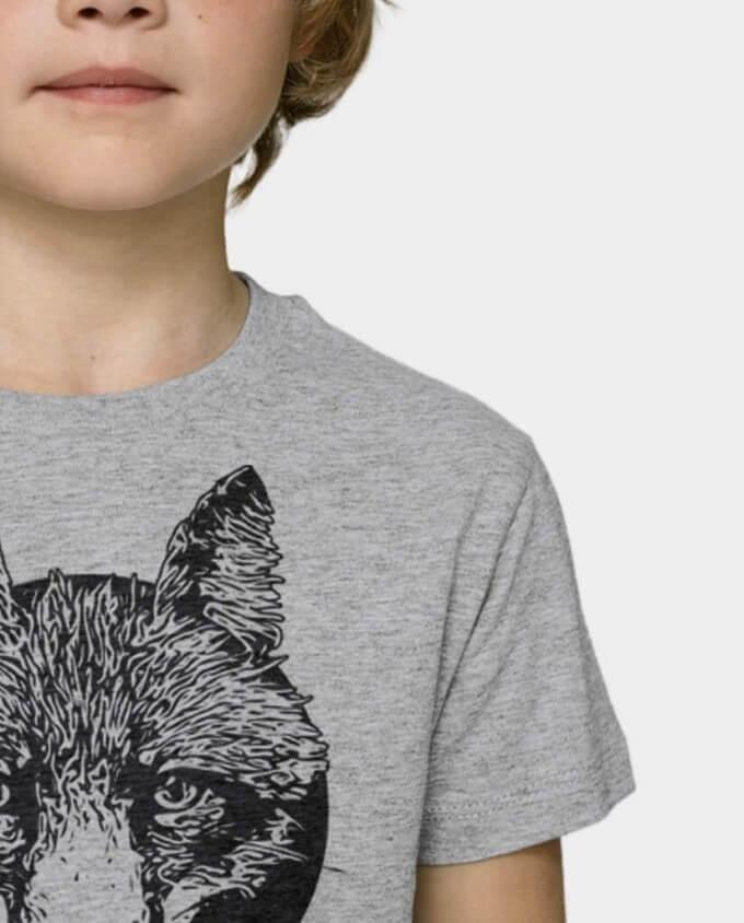 Kinder T-Shirt Fuchs Detail
