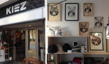 Geschäfte Verkaufslokale Kiez ruhr kommabei
