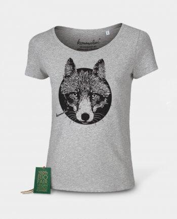 Bio Mode Damen T-shirt Reineke Fuchs Kommabei