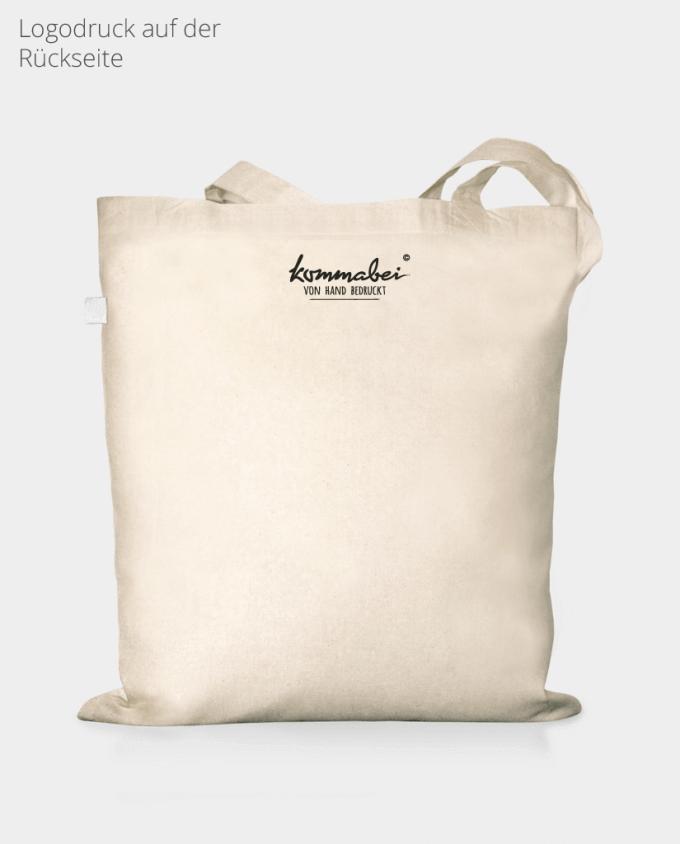 Jutebeutel Baumwolltasche Bio Kommabei Logodruck