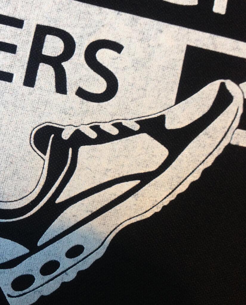 Pace Pack Runners Turnbeutel Detail Kommabei