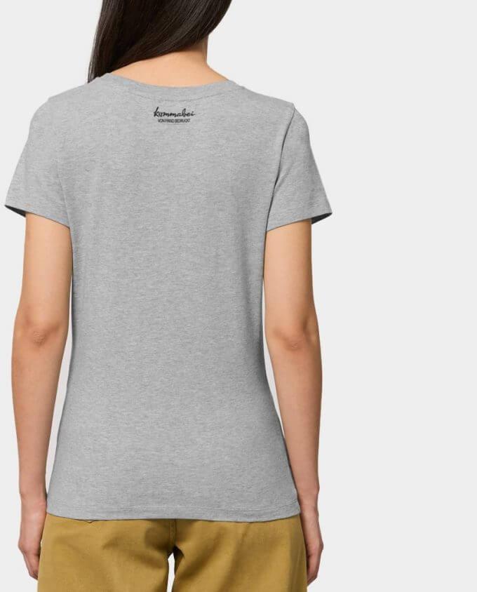 Damenshirt Grau Rücken