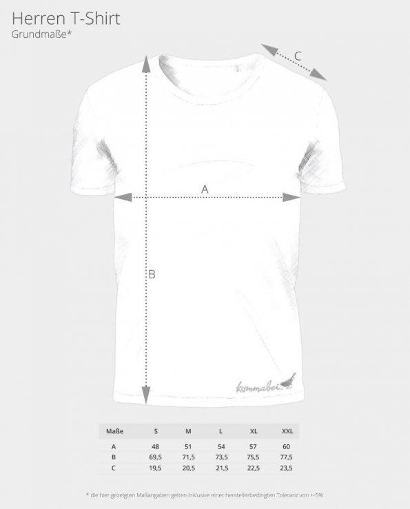 Bio T-Shirt Kommabei shirt Jungs massangaben
