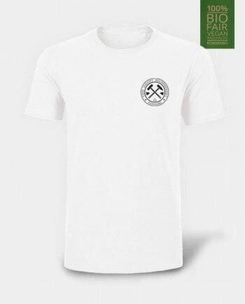 Das Herren T-Shirt Tiefe schafft Bescheidenheit Herzdruck Kommabei