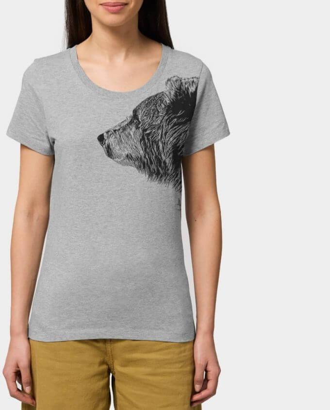 Damen T-Shirt Bruder Bär Kommabei