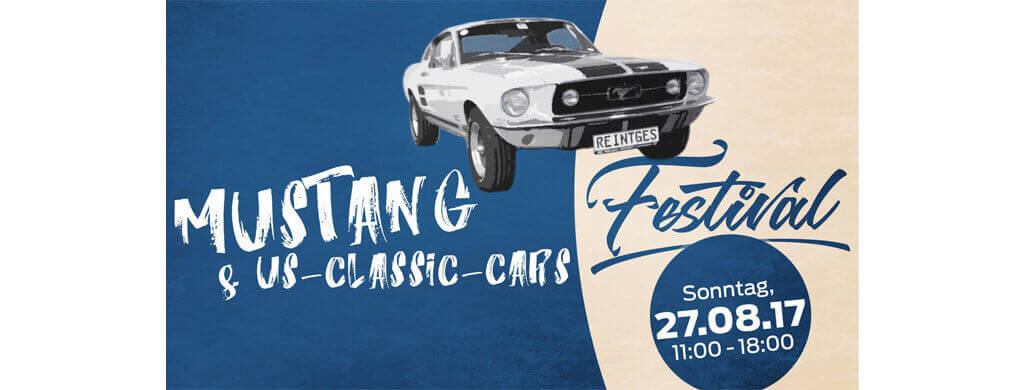 Mustang US Classic Car Festival Ford Reintges Kommabei
