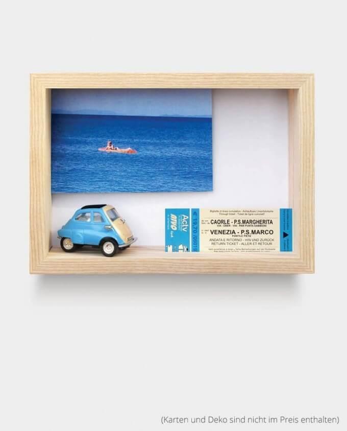 Kartenrahmen Bilderrahmen Auto Postkarte Deko Kommabei Onlineshop