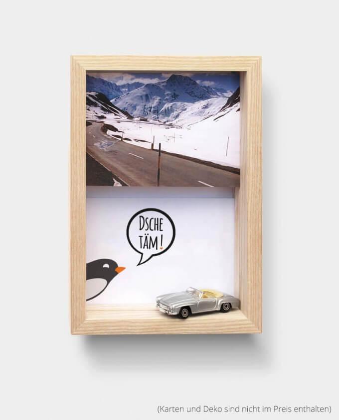 Kartenrahmen Bilderrahmen Hochkant Auto Postkarte Deko Kommabei Onlineshop