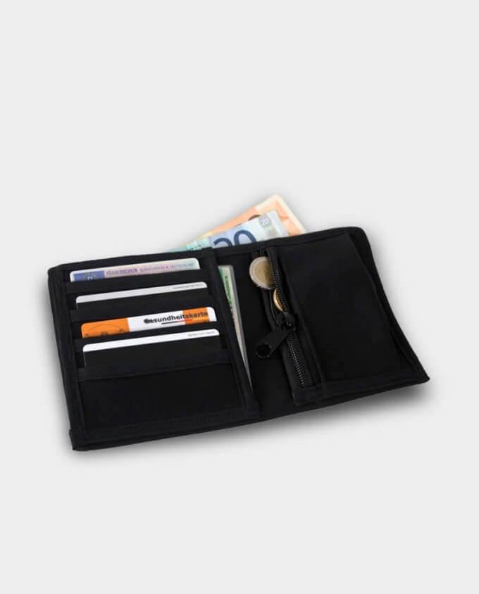 Denkefair Unisex Geldbörse schwarz