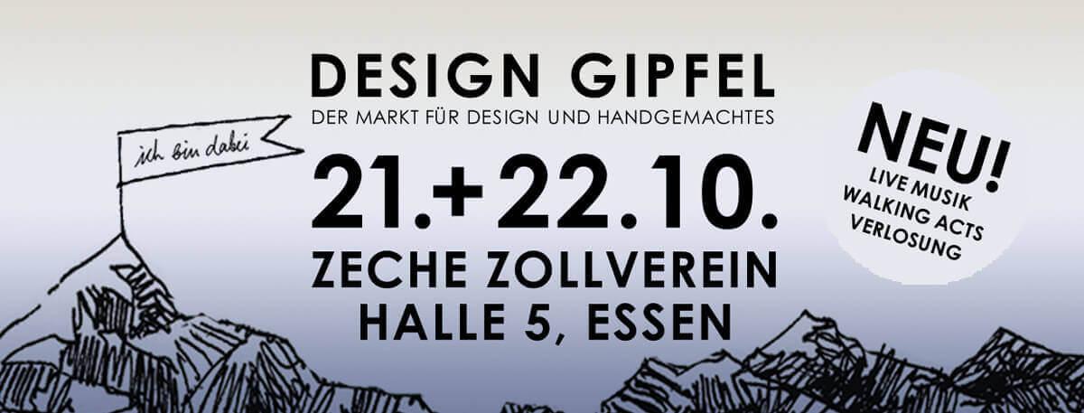 Design Gipfel Essen 21. - 22. Oktober 2017