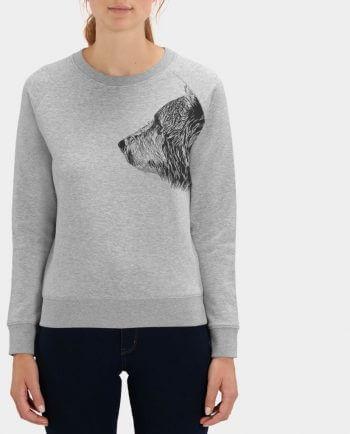 Pullover Damen Sweatshirt Bruder Bär von Kommabei