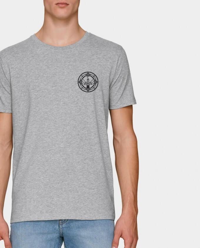 Bio Herren T-Shirt Geleucht Grubenlampe Ruhrpott Kommabei
