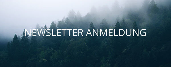 Newsletter anmeldung sidebar