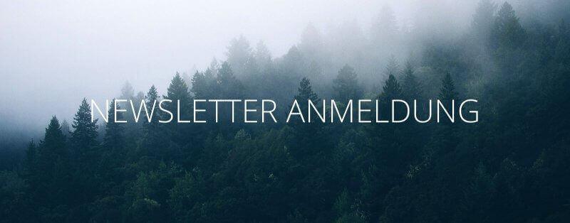 Die Anmeldung zum Newsletter von Kommabei