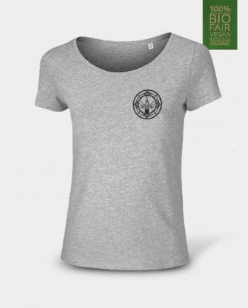 Damen T-Shirt Geleucht / Grubenlampe von Kommabei