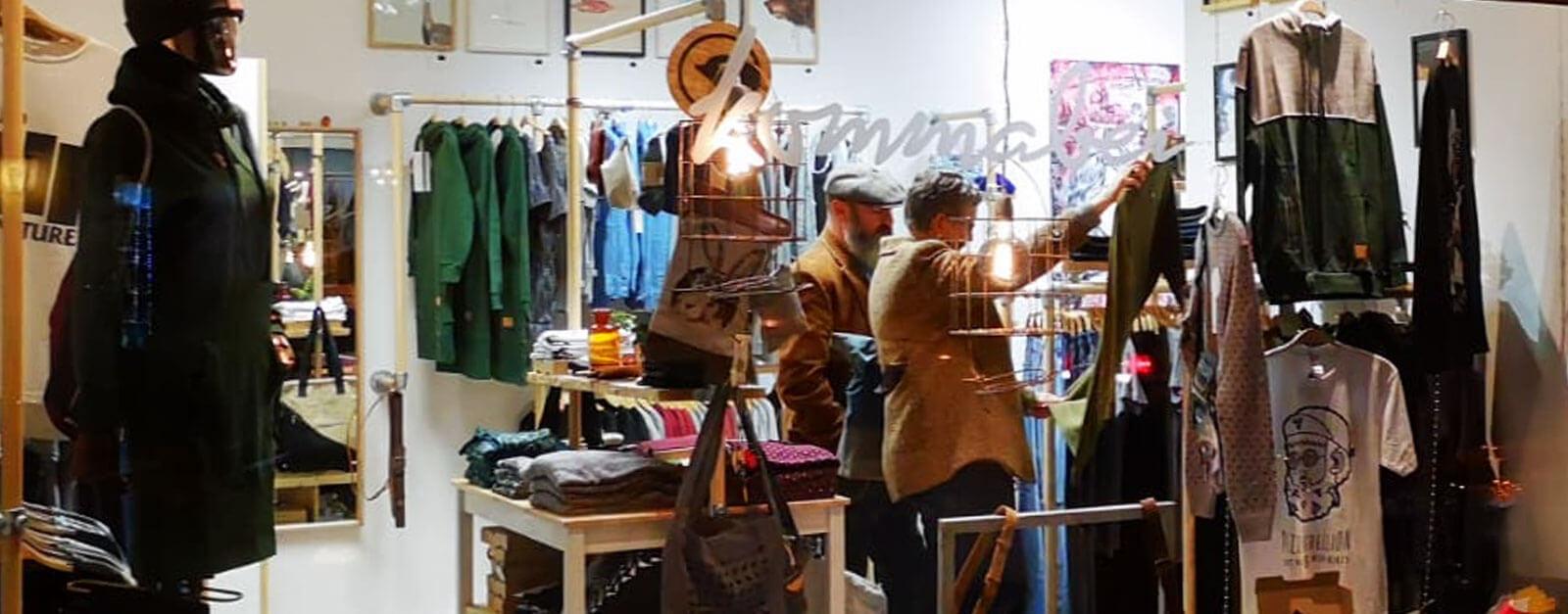 Ladenlokal von Kommabei in Essen