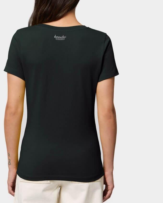"""Damen T-Shirt """"Dsche Täm"""" Rücken"""