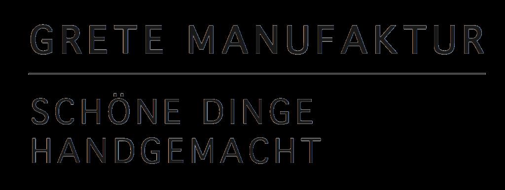 Marken Logo Grete Manufaktur