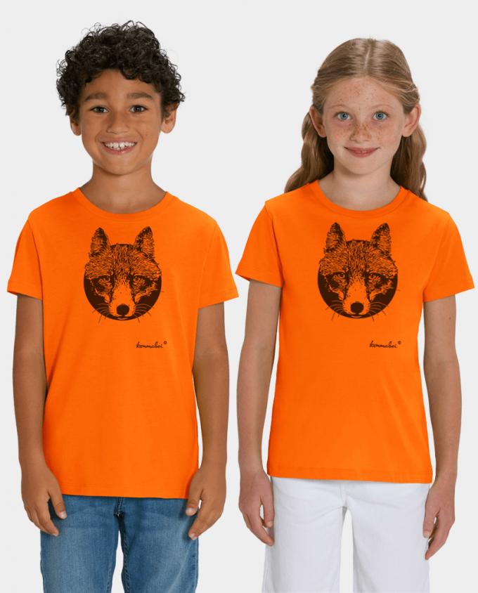 Unisex Kinder T-Shirt Fuchs
